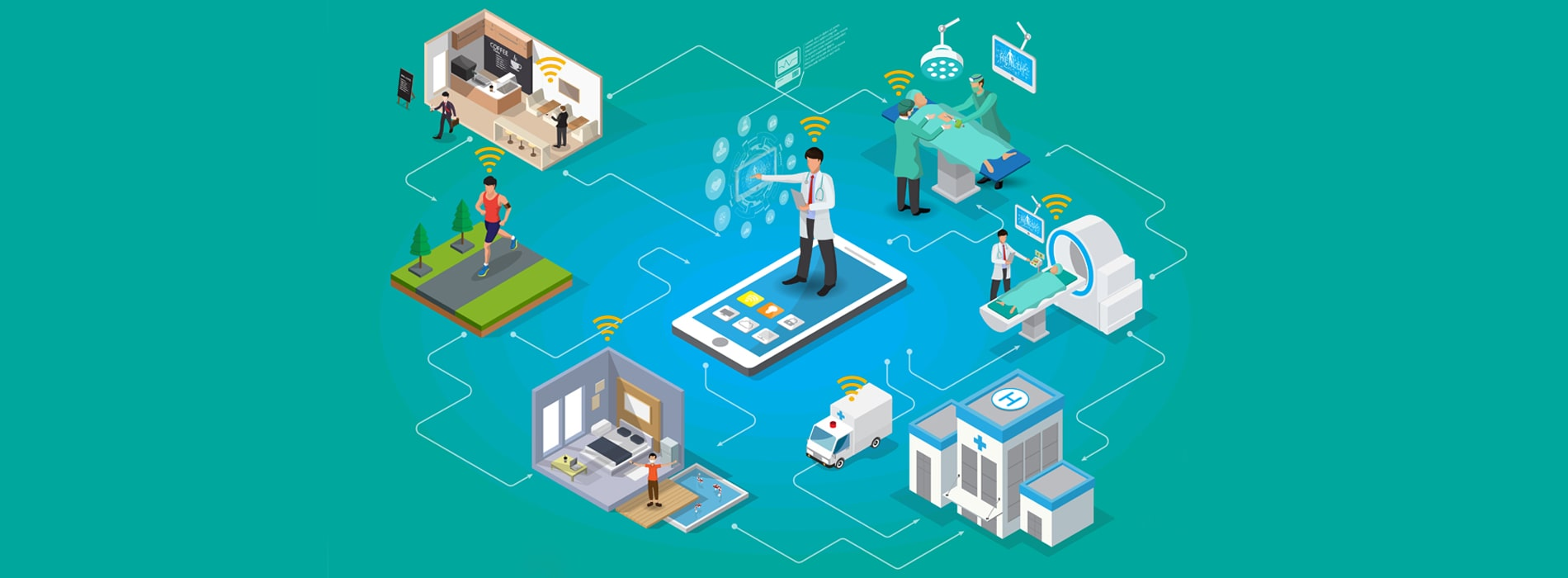 IoT Solutions for Hospital Healthcare industry