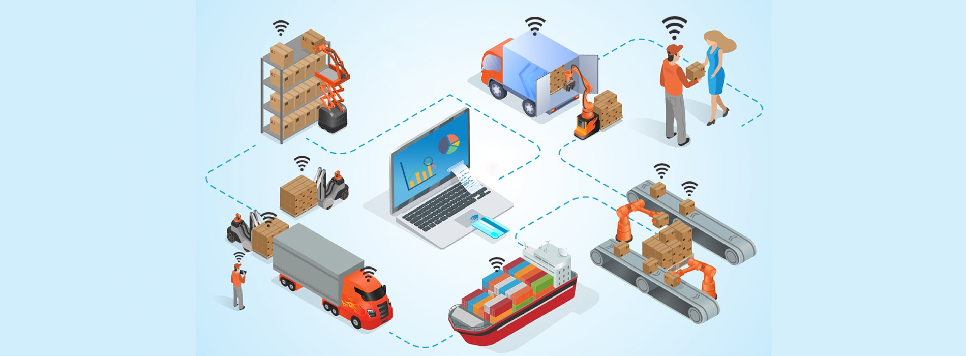IoT Solutions for Logistic Sector