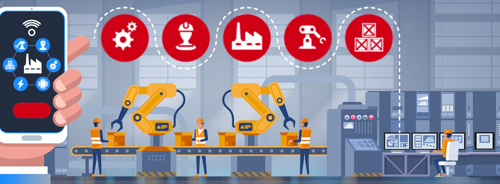 IoT Solutions for Manufacturing Industry